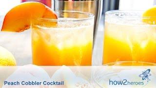 Download Peach Cobbler Cocktail Video
