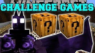 Download Minecraft: DARK OPAL DEMON CHALLENGE GAMES - Lucky Block Mod - Modded Mini-Game Video