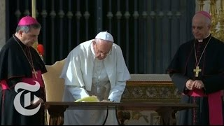 Download Pope Francis Extends Power to Forgive Abortion | The New York Times Video