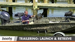 Download Tips and Tricks for Launching and Retrieving a Trailer Boat Video