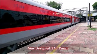 Download Newly Designed LHB 3AC Coach in Chennai Duronto || First on Youtube || Indian Railways Video