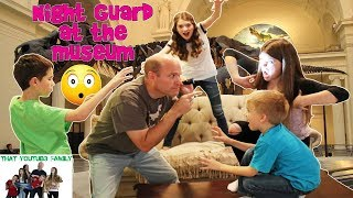 Download NIGHT GUARD AT THE MUSEUM GAME / That YouTub3 Family Video