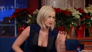 Download Jennifer Lawrence Enjoys Being A Human Being Video