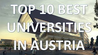 Download Top 10 Best Universities In Austria/Top 10 Mejores Universidades De Austria Video