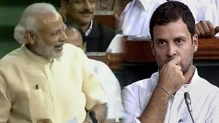 Download PM Modi Makes Fun of Rahul Gandhi in Lok Sabha Video