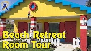 Download Legoland Beach Retreat bungalow room tour at Legoland Florida Resort Video