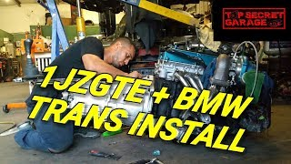 Download HOW TO INSTALL A BMW TRANSMISSION ON A 1JZGTE Video