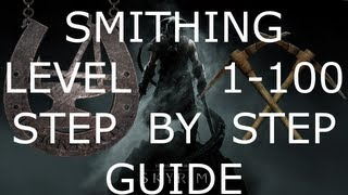 Download skyrim how to get 100 smithing after patch 1.5 (Better Than Gold Jewelry) Video