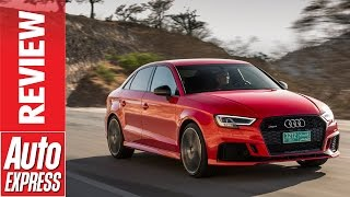 Download New Audi RS3 review - 395bhp road rocket launched in the desert Video
