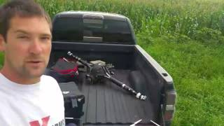Download Flying the drone to check the corn! Video