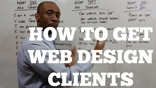 Download How to Get Web Design Clients Video