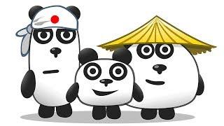 Download ТРИ ПАНДЫ / Приключение на острове в Японии в мультяшной игре для детей #ПУРУМЧАТА Video