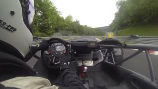 Download Ariel Atom follow FERRARI 458 speciale on Nurburgring full lap Video