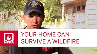 Download Your Home Can Survive a Wildfire Video