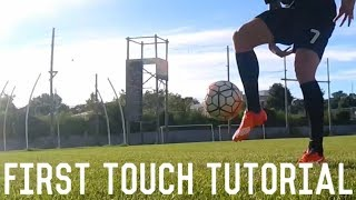Download How To Control A Long Pass | First Touch Tutorial | Mastering The Perfect Touch Video