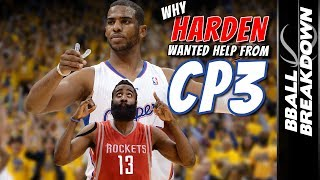 Download Why James Harden Wanted Chris Paul's Help On The Rockets Video