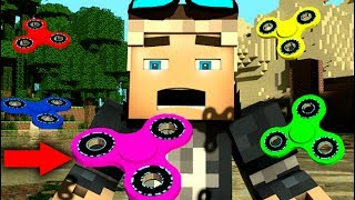Download FIDGET SPINNERS IN MINECRAFT! [3D Minecraft Animation] FIDGETSPINNERS.IO Video