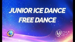 Download ISU JGP Final - Ice Dance - Free Dance - Nagoya 2017 Video
