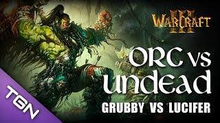 Download Warcraft 3 - Grubby (Undead) vs Lucifer (Orc) - Lost Temple Video