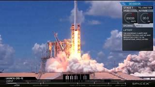 Download CRS-12 Launch Webcast Video