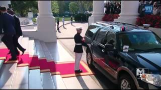 Download Côte d'Ivoire prime minister Daniel Kablan Duncan arrives at the White House Diner Video