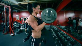 Download Heather Dees TopForm Athlete Works out Arms Video