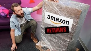 Download We Bought a MYSTERY Crate of Amazon Returns! Video