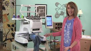 Download Marie Zinno shows techniques for embroidering jeans like in the 70's on It's Sew Easy (813-2) Video