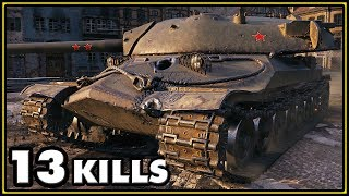 Download IS-7 - 13 Kills - World of Tanks Gameplay Video