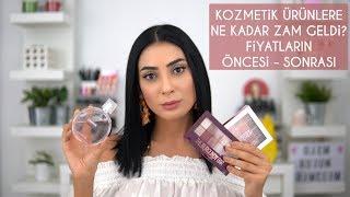 Download Kozmetik Ürünlere Ne Kadar Zam Geldi ? 😱 | Fiyatların Öncesi - Sonrası 😠 Video