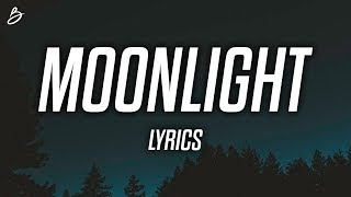 Download Ali Gatie - Moonlight (Lyrics / Lyric Video) Video