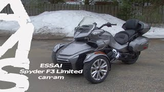 Download Can-Am Spyder F3 Limited | Essai complet | Action Moteur Sport Moto Video