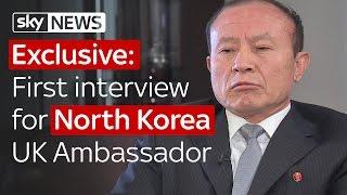 Download Exclusive: North Korea UK ambassador's first interview Video