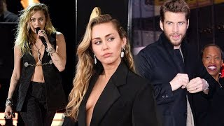 Download Unfortunate reason Liam wasn't with Miley Cyrus at the 2019 Grammy Video