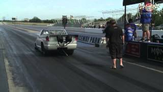 Download Larry Larson Smashes World Record: Runs 6.16 at 219 MPH In Street-Legal Car Video