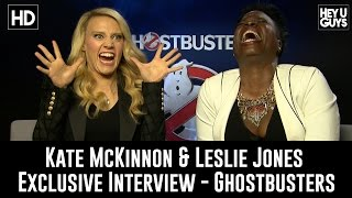 Download Kate McKinnon & Leslie Jones on Ghostbusters & Twitter Trolls - Exclusive Interview Video