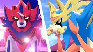 Download Pokémon Sword & Shield - Zacian & Zamazenta Boss Fight Video