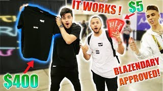 Download Trading a $5 Supreme Sticker to a $400 Supreme Box Logo Tee!! Blazendary approved!! | Ep.1 Video