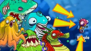 Download EatMe.io Most Powerful Top 5 Fishes Unlocked & Evolve! World Biggest Sea Fish Monster Duel Battle Video