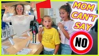 Download MOM CAN'T SAY NO !! KIDS IN CONTROL FOR 24 HOURS | SISTER FOREVER Video