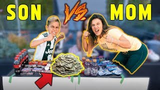 Download WHO CAN MAKE The MOST MONEY In 24 Hours Challenge *SON VS MOM* | The Royalty Family Video