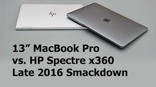 Download 13″ MacBook Pro vs. HP Spectre x360 Late 2016 Comparison Smackdown Video
