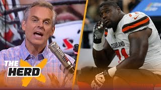 Download Colin reacts after the Browns missed 4 kicks and lost to the Saints | NFL | THE HERD Video
