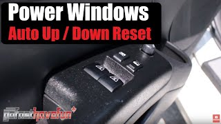 Download How to reset/ recalibrate automatic power window switches (Nissan 350Z) Video