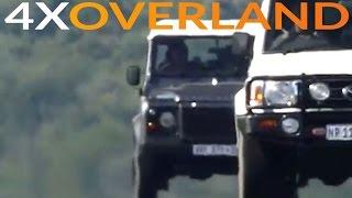 Download Land Rover Defender versus Toyota Land Cruiser 76 Wagon Video