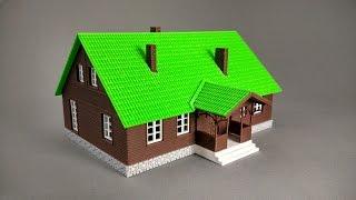 Download Model drewnianego domu z drukarki 3D (skala 1:100) Video