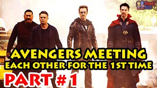 Download AVENGERS MEETING EACH OTHER FOR THE FIRST TIME Video