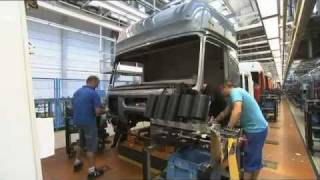 Download Mercedes Benz new ACTROS 2011 trucks Production Plant Worth Video