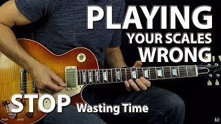 Download You Are Playing Your Scales Wrong (The Map Technique) Video