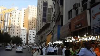 Download Makkah Hotels near Masjid Al-Haram (Kaaba), Makkah Video